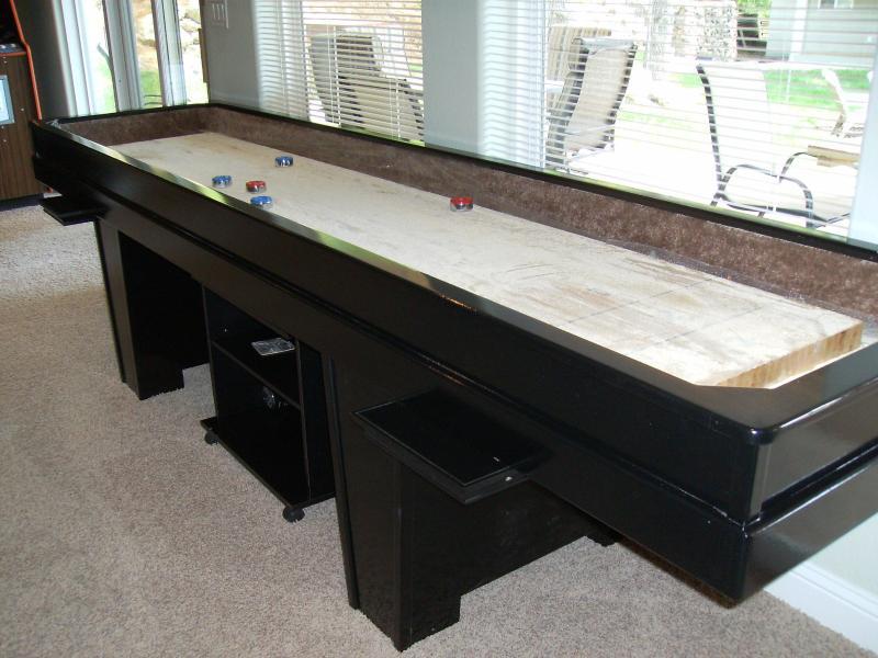 Shuffleboard mesa hecha a la medida