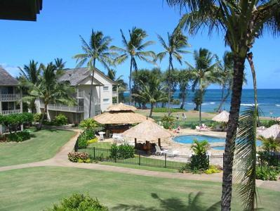 This pic is your Stunning Oceanview from condo! Top floor!, alquiler de vacaciones en Kapaa