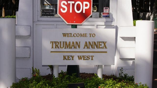 My cottage is in the Shipyard section of the Truman Annex