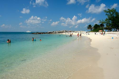 Come to Ft Zachary beach, just 800 yards away
