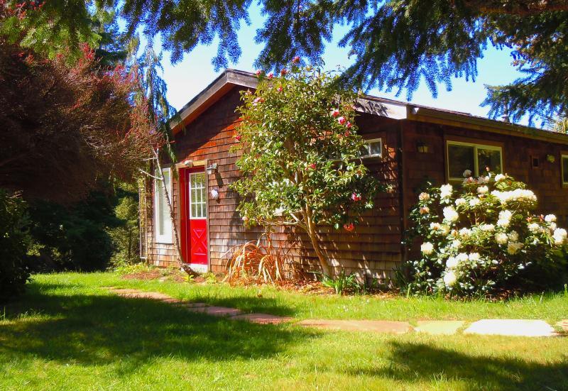 Cottage entrance door