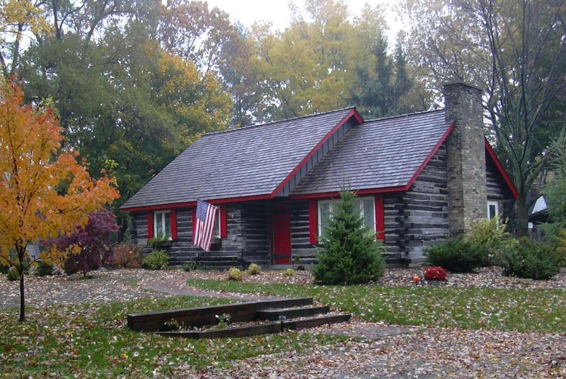Higman Park Cabin - Autumn View