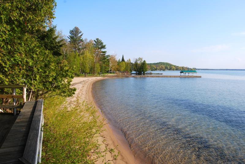Vista playa desde cubierta