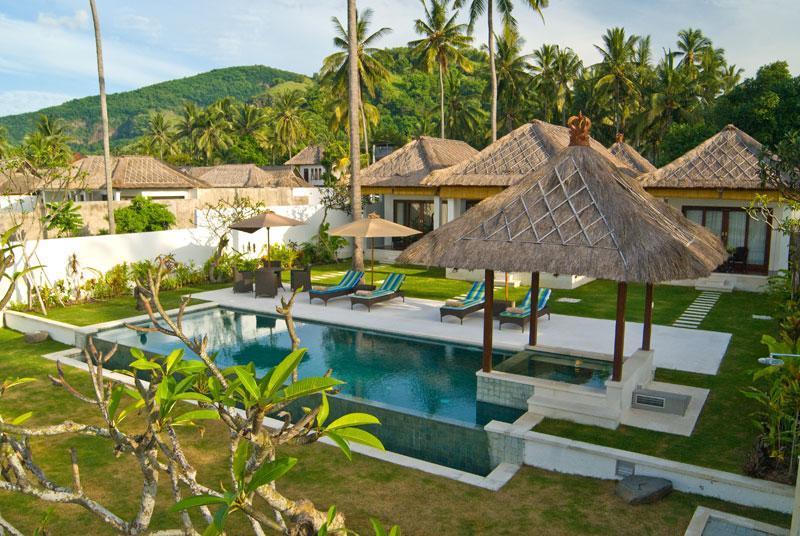 Ocean Front Villa at Candi dasa Bali