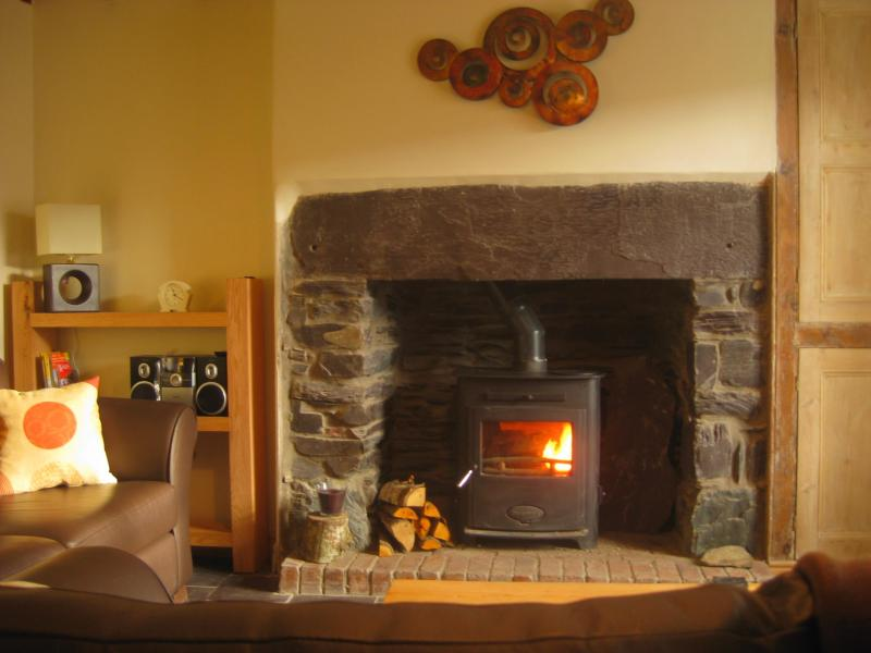 Ty Nant Cottage - Lounge