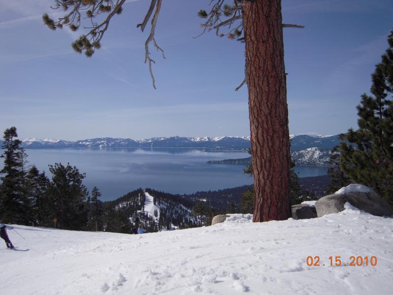 Ski with a view at Diamond peak