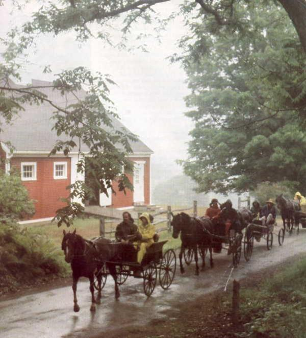 Carriage House Traffic