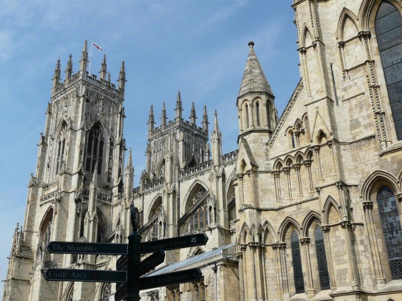 Near the Minster - only 4 minutes walk