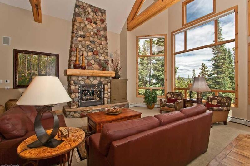 Great Room with views of Mount Baldy