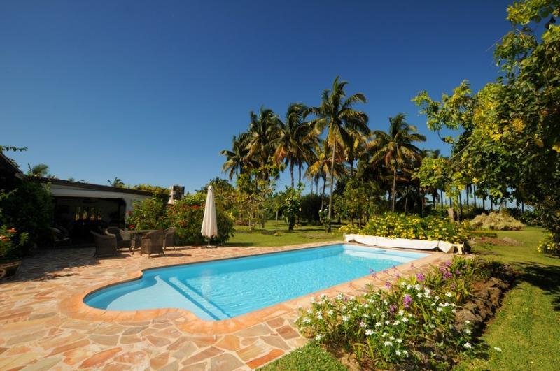 pool of villa la cocoteraie