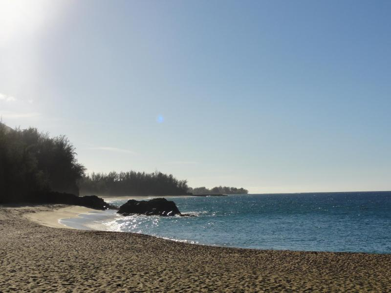 Kauai pristine beach