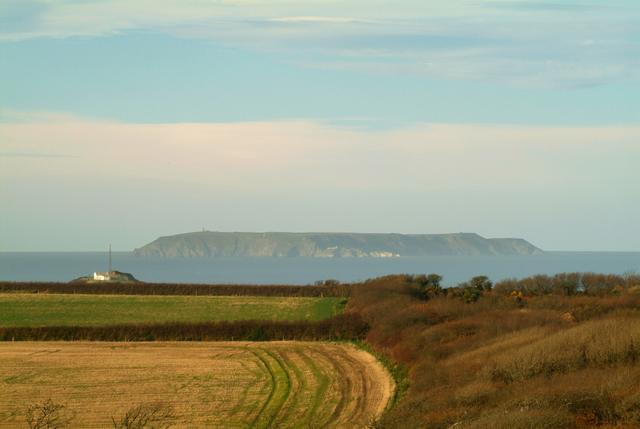 LUNDY ISLAND FROM IVY