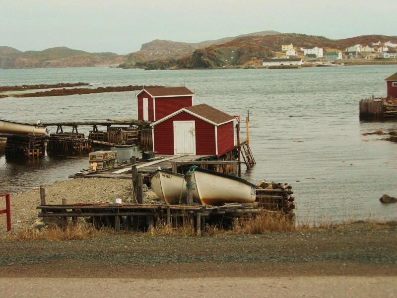 Local fishing stages