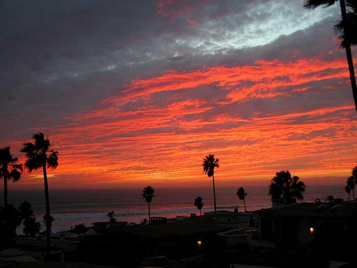 Las Gaviotas Rosarito Beach Rental Sunset