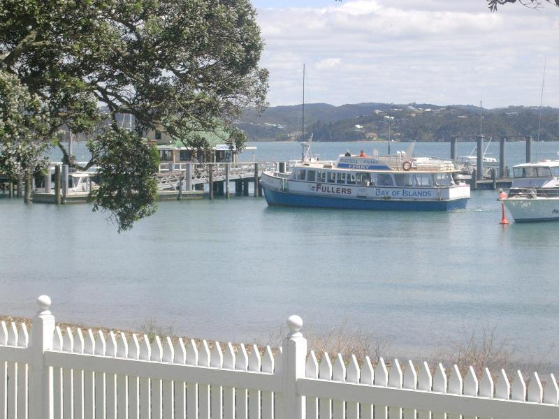 All tours and trips depart the wharf as seen from the property.