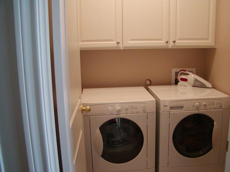 Oh si. El cuarto de lavado en caso de que lo necesiten.