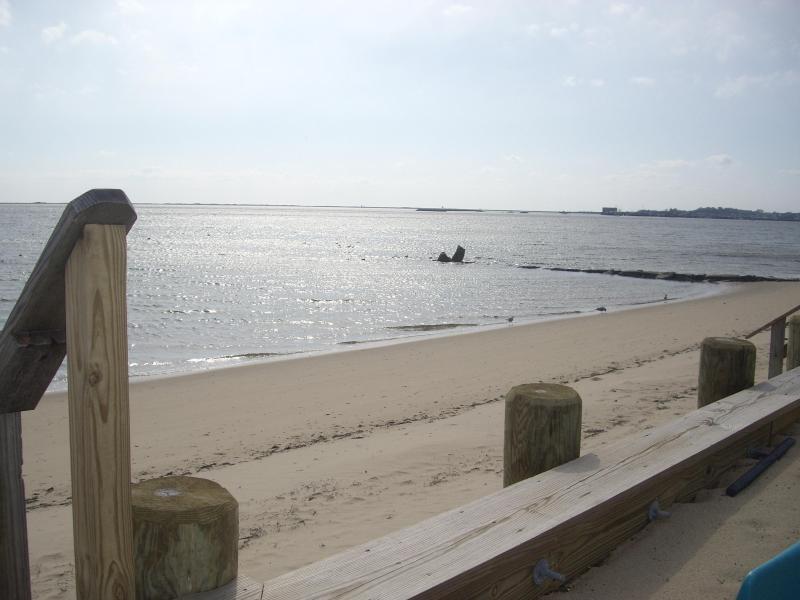 Acesso à praia