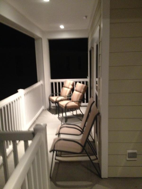 Large porch with access from MBR and Living Room