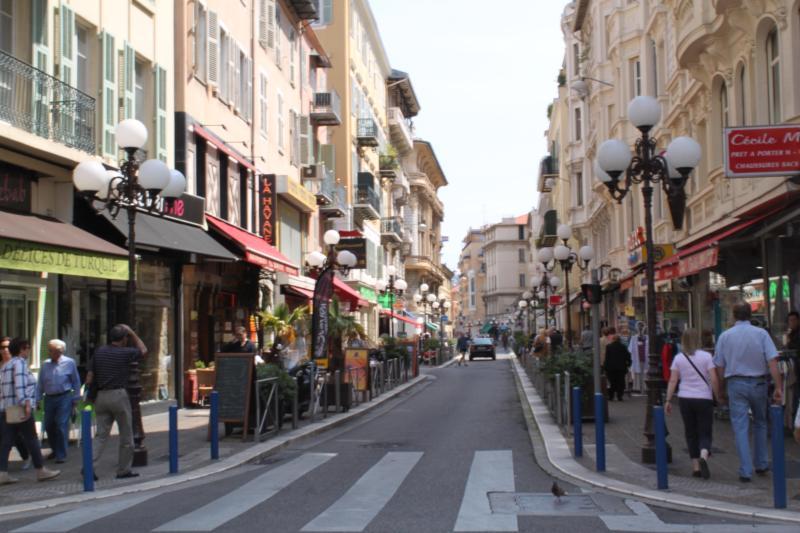 Blick Ecke Rue de France / Rue Meyerbeer