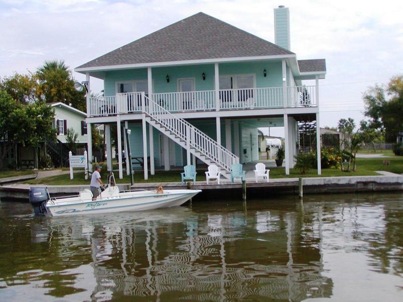 You can launch your boat from the boat launch or just fish off the dock. Great area for fishing.
