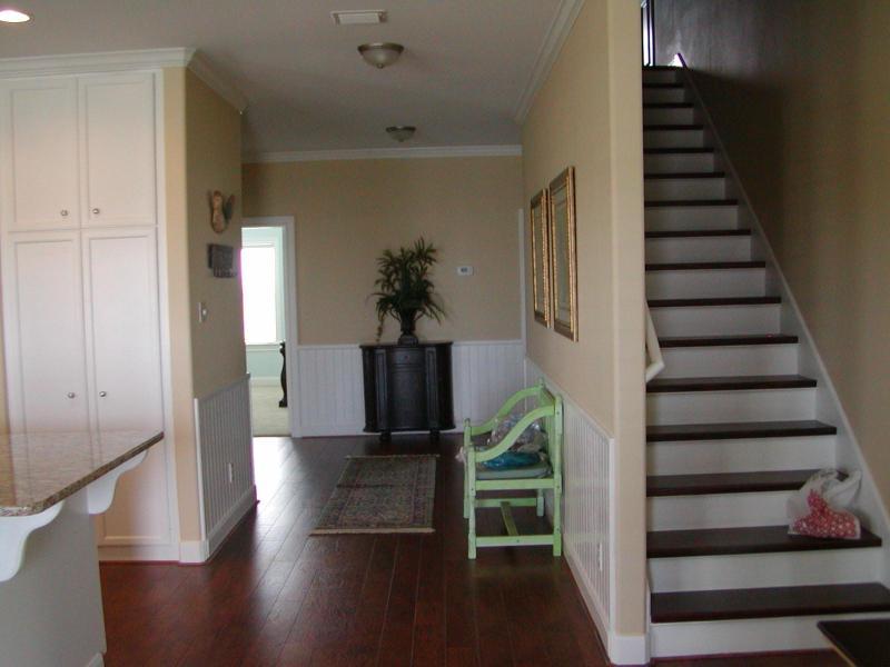 Hallway and stairway to upper bedrooms
