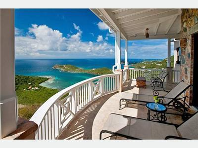 Large Veranda w 280 degree ocean views