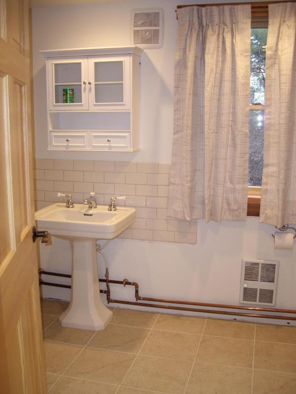 Banheiro de galeria