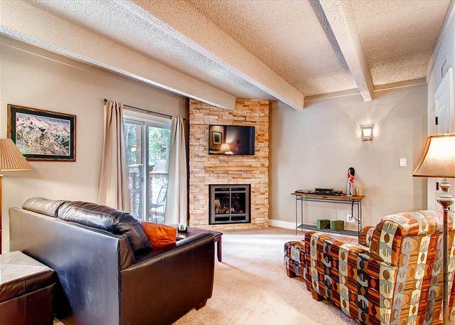 Columbine Living Room Logement Breckenridge