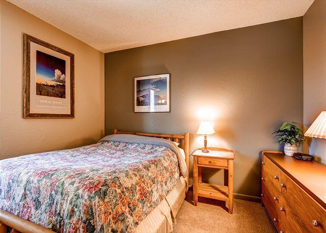Gold Camp Condo on Peak 8 Queen Bedroom Breckenridge Lodging