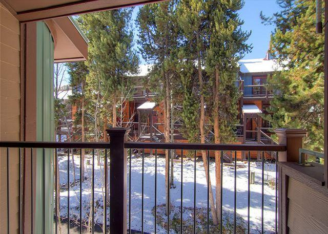 Sundowner II Balcony Breckenridge Lodging & Vacation Condos