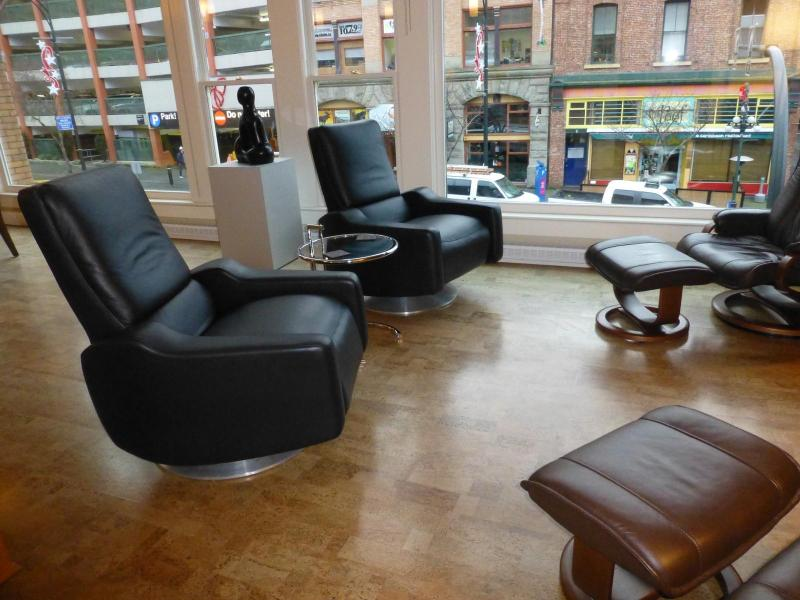 Very Comfortable Leather Chairs