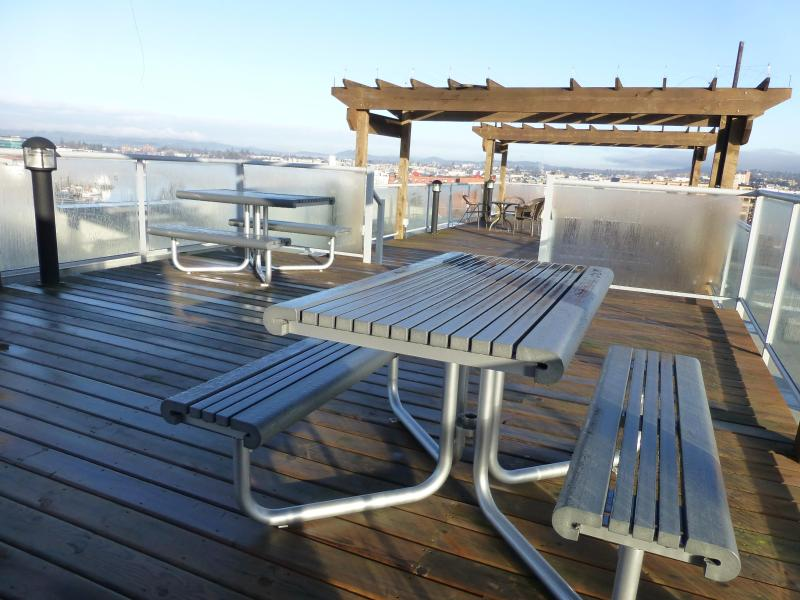 Seating And Views On Patio Rooftop