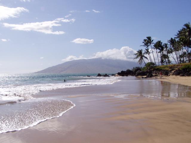 Charley Young strand op zoek naar West Maui (Lahaina)