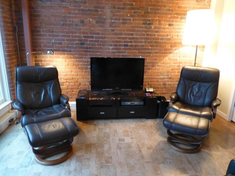 Leather Chairs Tilt Making Them Very Comfortable