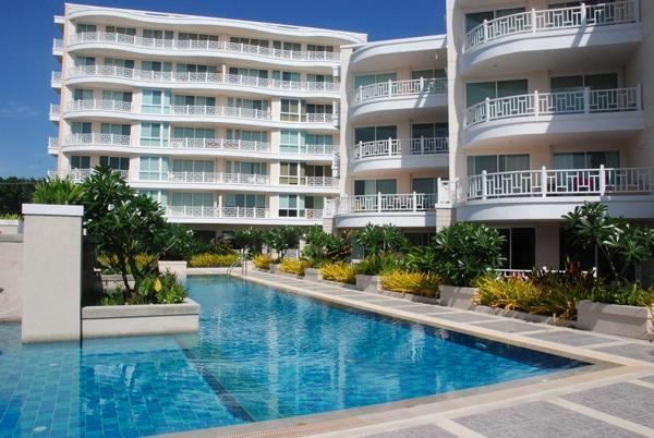 Beachfront Condomium at Baan Poolom Hua Hin – semesterbostad i Hua Hin