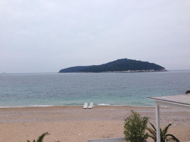 The beach & the island
