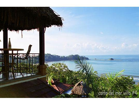 View of ocean from villa