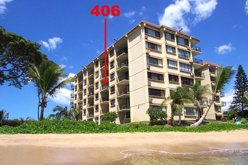 Stay here! Unit #406, right on the beach!
