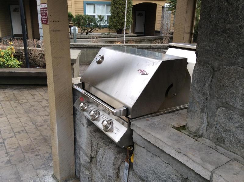 Barbeques are available winter and summer