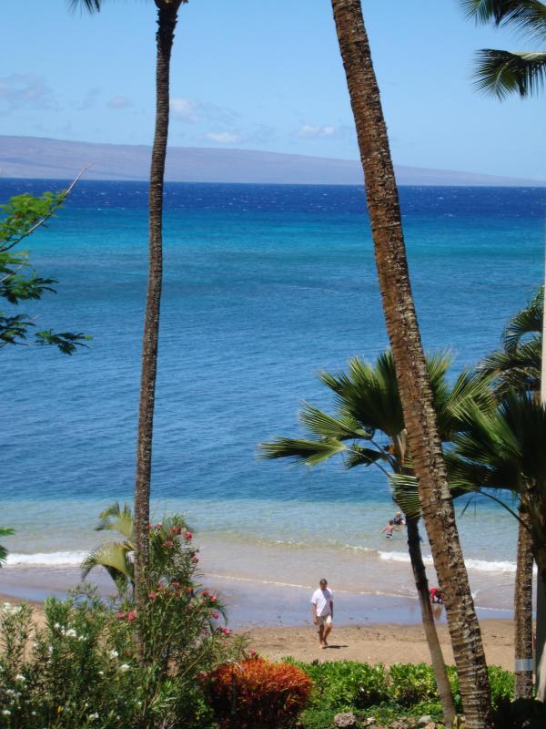 401 Vista da praia de Lanai