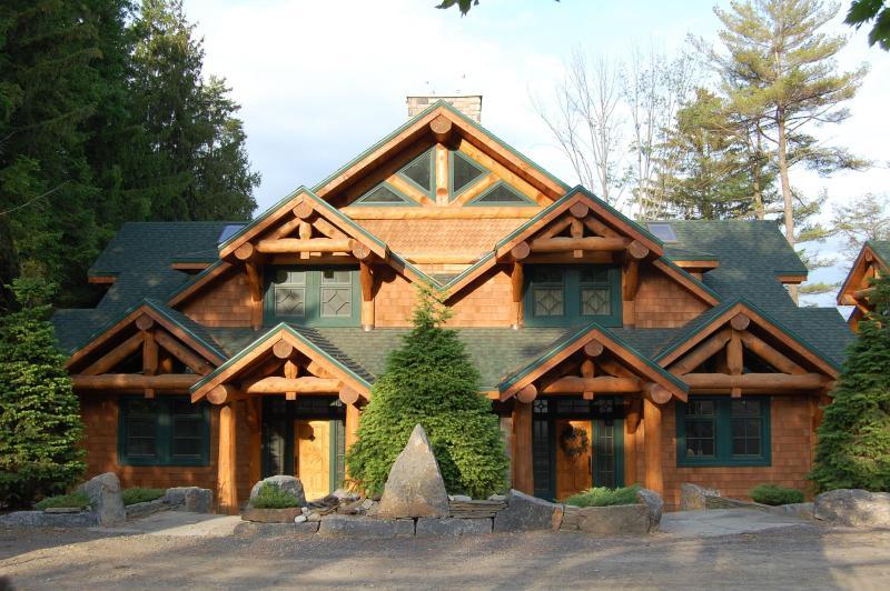 A duplex lodge at AHP