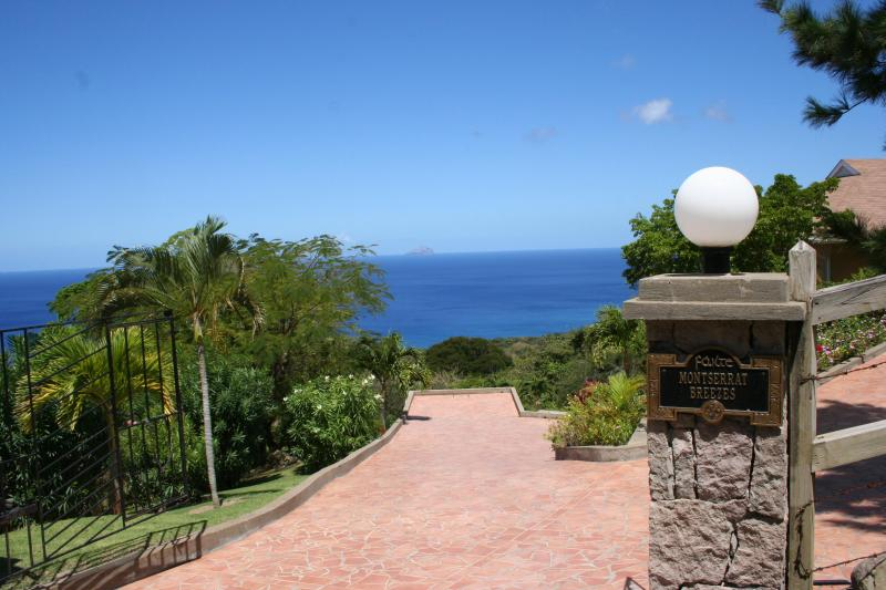 Entrance to Montserrat Breezes