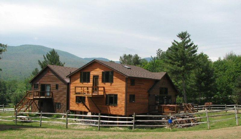 Stowe Mountain Ranch from the rear....