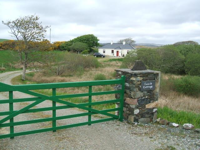 Entrance to cottage. 100 Mtr. driveway.