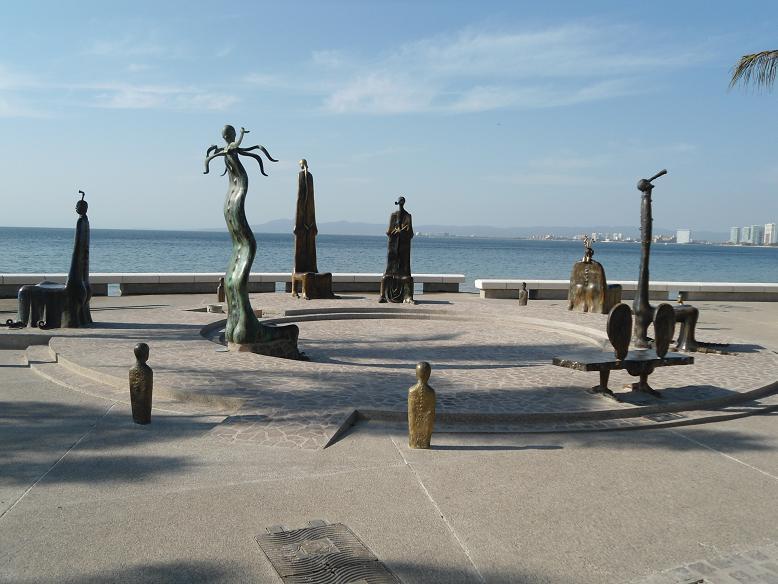 Sculpture sièges Malecon