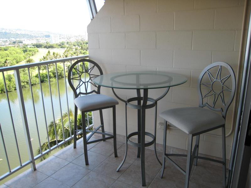 Private Balcony table / chairs