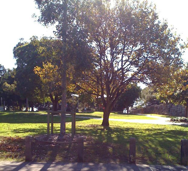 The large park right across the road has a large children's playground and is great place to relax.