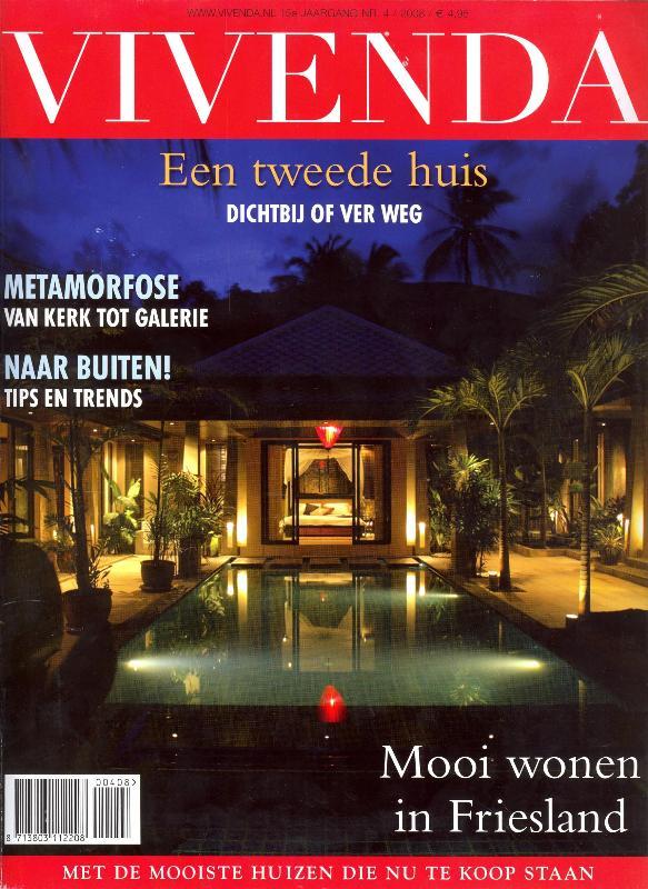 Wir auf dem Titelblatt einer niederländischen Architektur Zeitschrift!