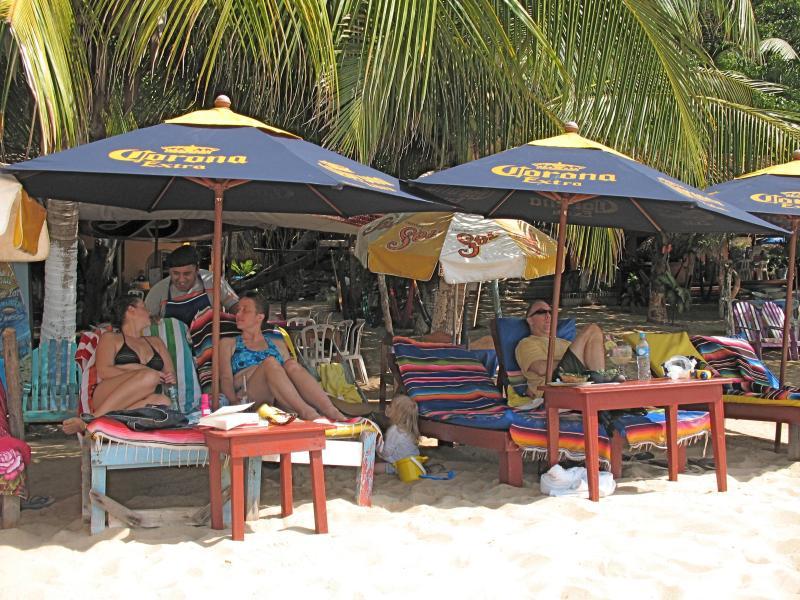 am Playa Manzanillo