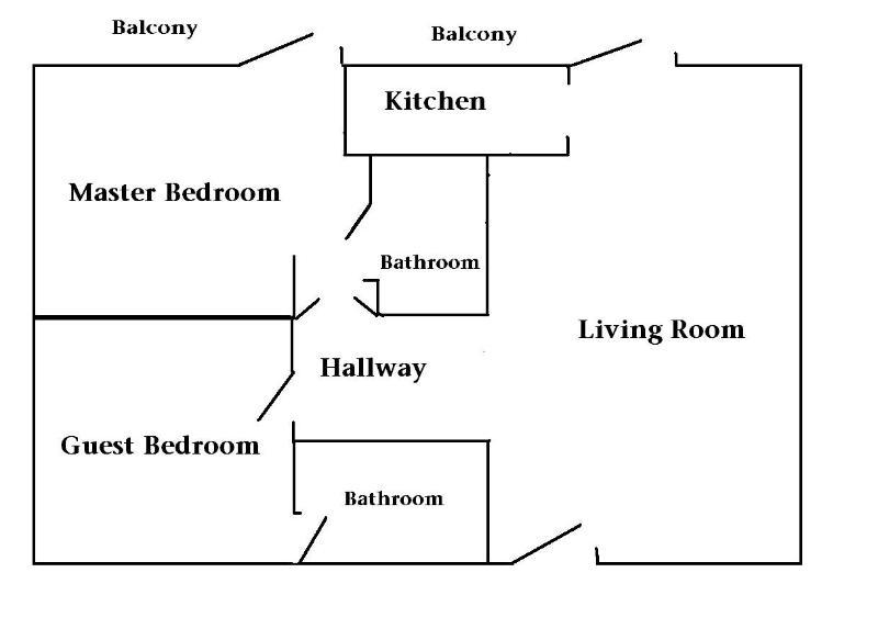 Diseño de plan de piso condominio
